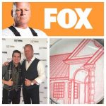 Josh Bois with TV Celebrity Mike Holmes construction inspector show